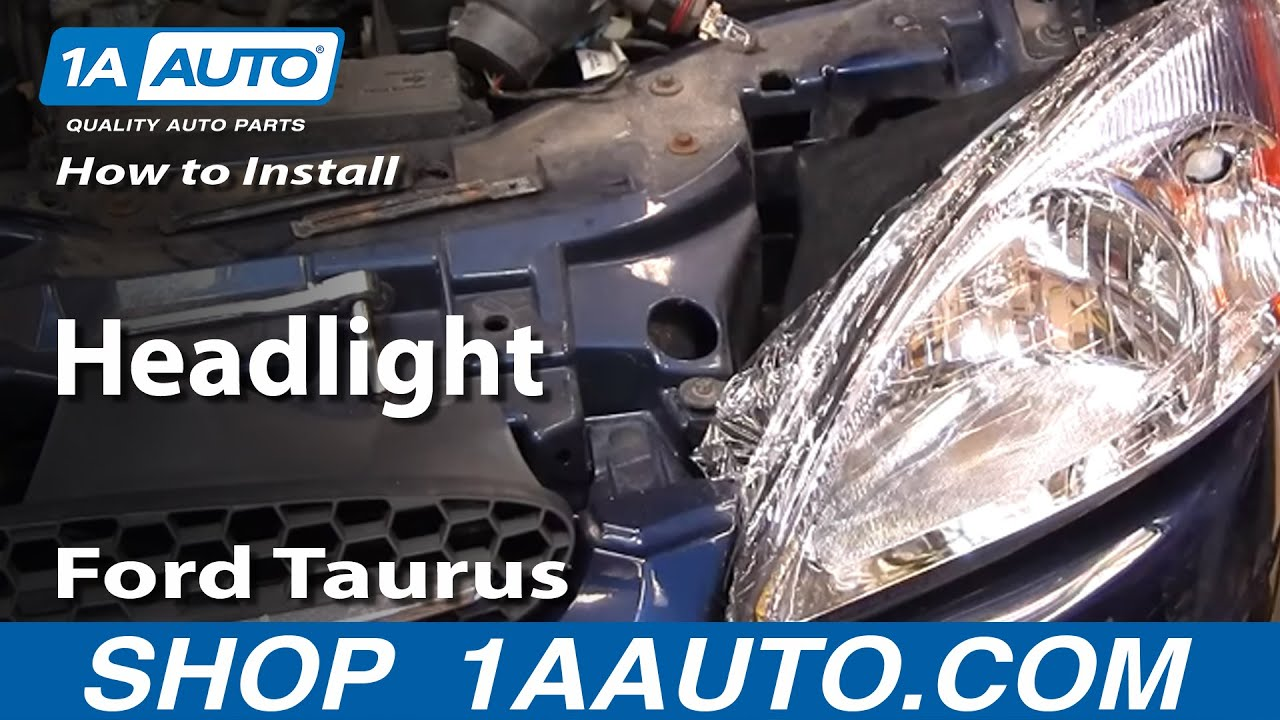 1996 Ford Windstar Fuse Diagram How To Install Replace Headlight Ford Taurus 00 07 1aauto