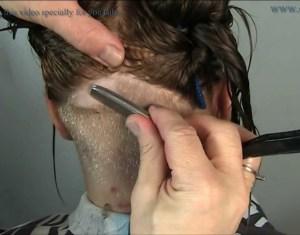 Extreme Bowl Cut Women With Shaved Nape Blonde Pixie Undercut Buzzcut Haircut Short Bob