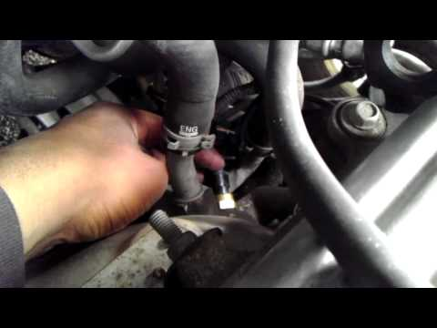 Wire Diagram For 1987 Honda Civic Coolant Temperature Sensor Replacement Saturn Ion Youtube