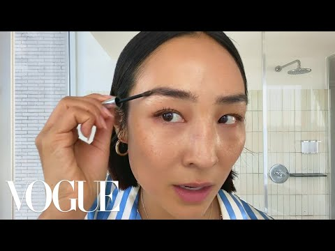 Greta Lee's Casual Glam Beauty Routine   Beauty Secrets   Vogue