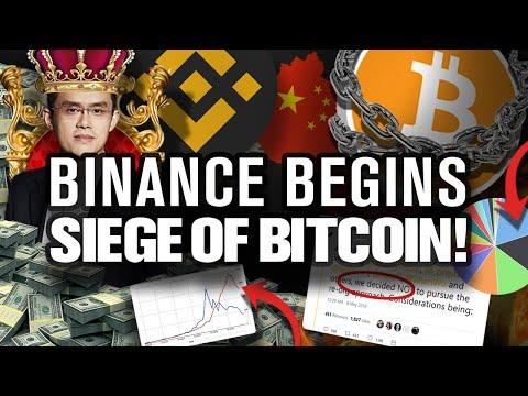 BITCOINs Secret Attack Is Underway by Binance!!