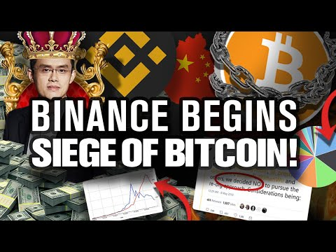 BITCOINs Secret Attack Is Underway by Binance!!