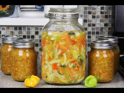 Chunky Caribbean Lime Lemon Pepper Pickle | CaribbeanPot.com