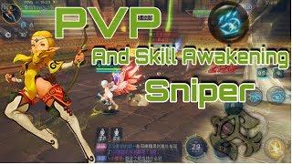PVP and Skill Awakening Sniper - Dragon Nest Awake (Mobile)