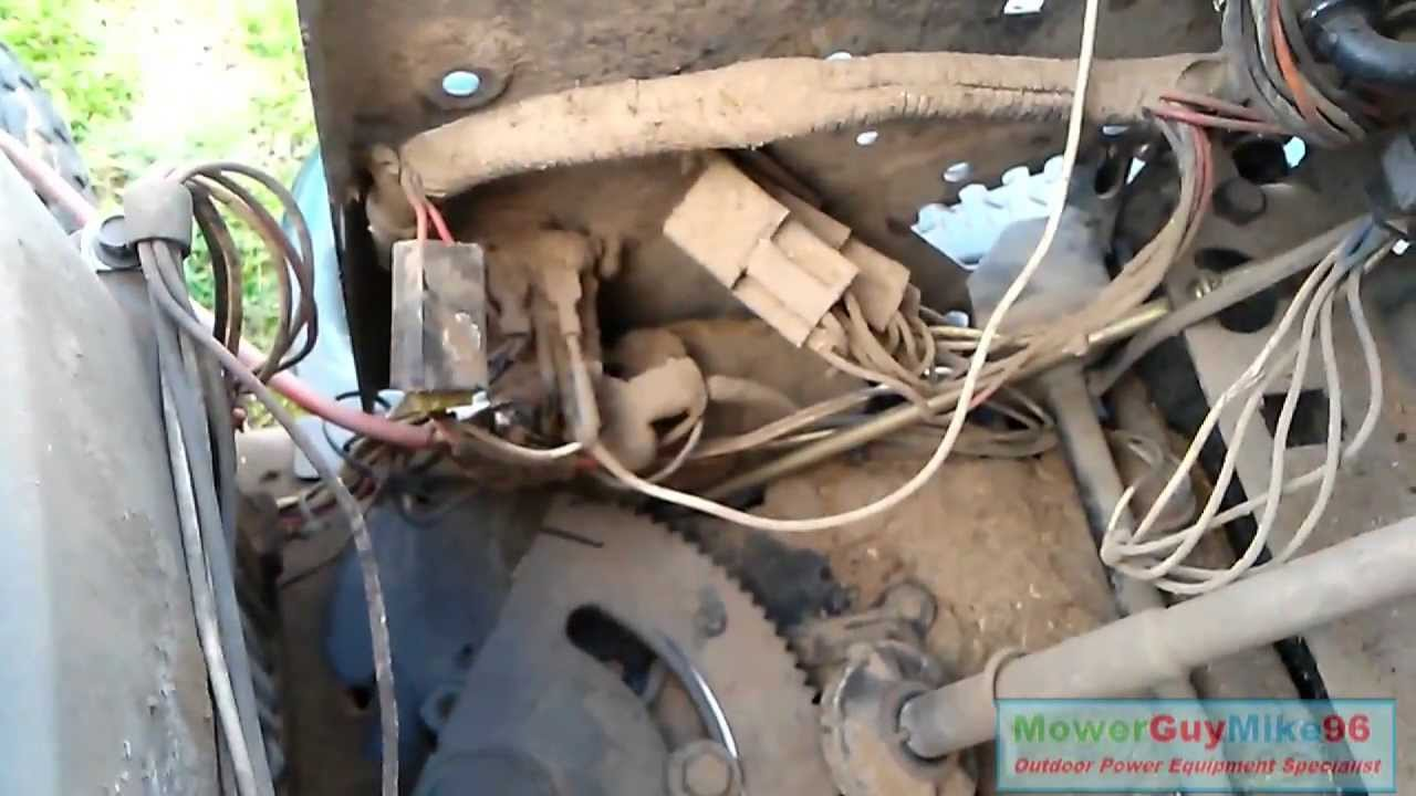 John Deere Riding Mower Wiring Diagram Ope Repair 2001 Craftsman Lt1000 Solenoid Replacement