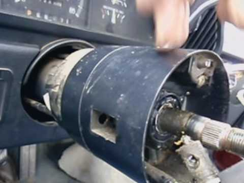 1991 Chevy Kodiak Wiring Diagram 1991 F150 Remove Steering Wheel To Replace Repair Key And