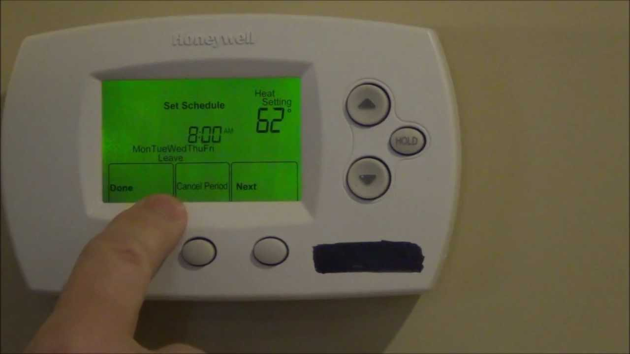 How To Program Your Thermostat