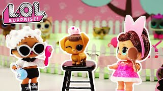 LOL Surprise! | Stop Motion Pet Daycare Cartoon | #PetsOfLOL
