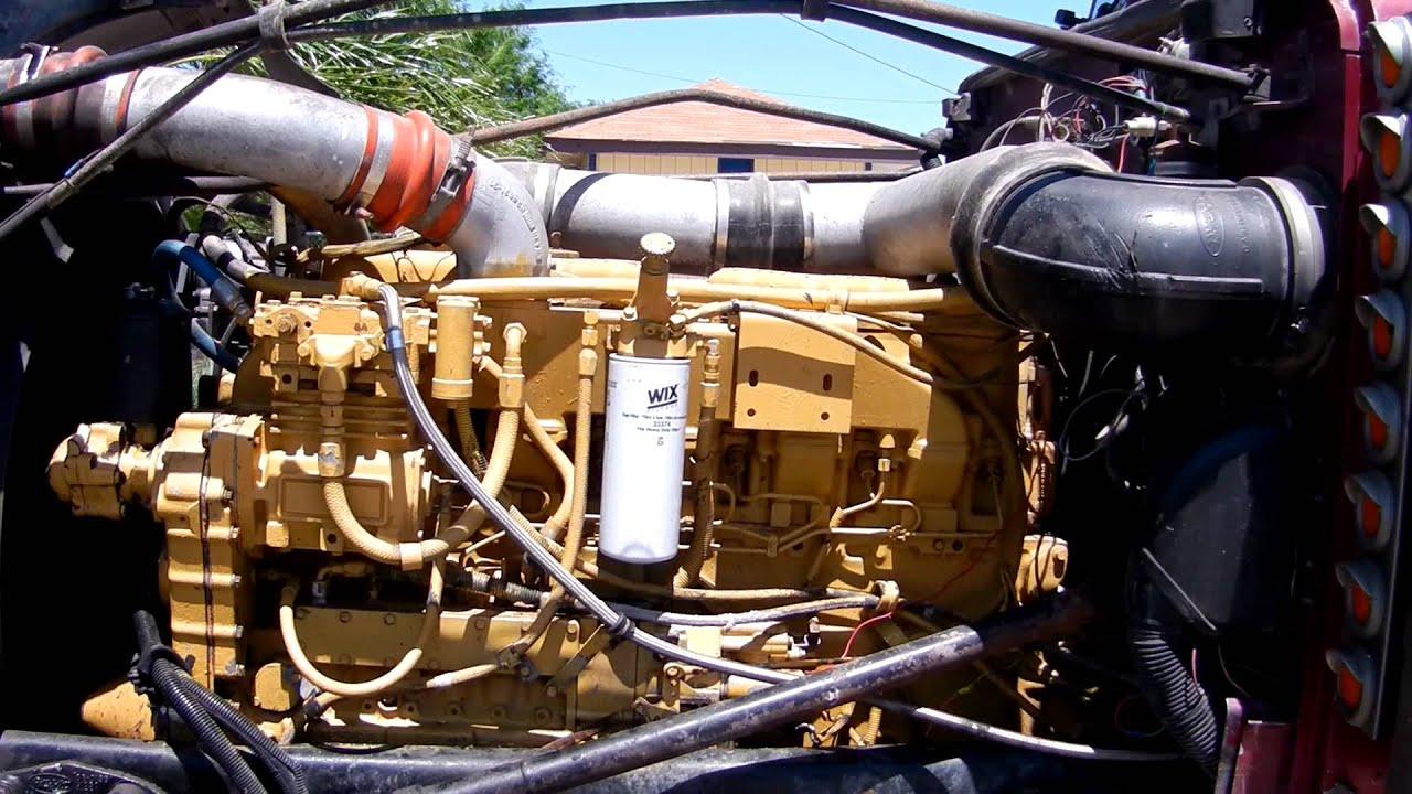Wiring Diagram Engine Start Cat 3406b 14 6l 425hp Youtube