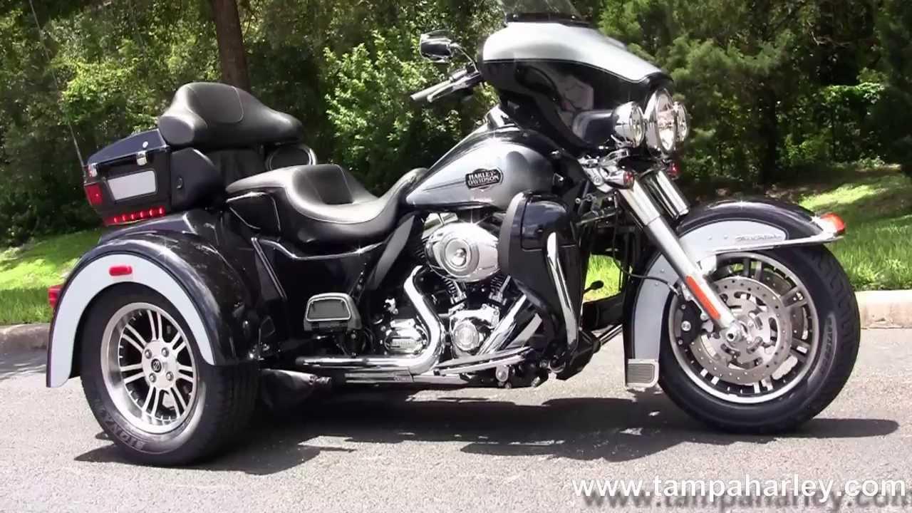 New 2013 Harley Davidson Motorcycle 3 Wheeler Trike For