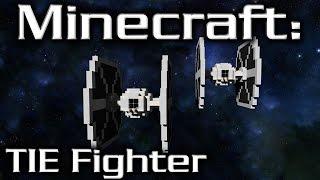 Minecraft: Star Wars: TIE Fighter Tutorial (2/1 Scale)