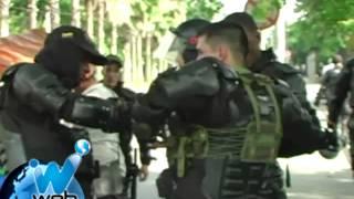 Muere un policía del ESMAD en disturbios en Univalle
