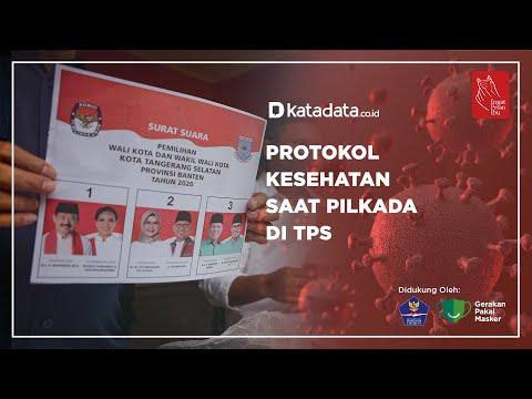 Protokol Kesehatan Saat Pilkada di TPS | Katadata Indonesia
