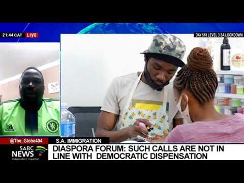 Dynamics between immigrants in SA and Operation Dudula Movement: Prince Debo Adesina