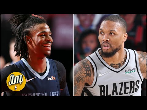 The Grizzlies vs. Trail Blazers rivalry is heating up again | The Jump