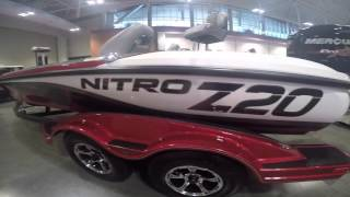 2016 Nitro Z20 Z-PRO HIGH PERFORMANCE BASS BOAT Overview
