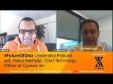 @RCKashyap @Cylance on State of Security & Technologist Mindset #FutureOfData #Podcast