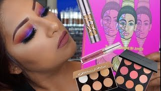 Makeup Tutorial Trying New Products! Juvia's Place Urban Decay All Nighter Foundation & More