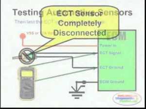 ECT Sensor & Wiring Diagram  YouTube