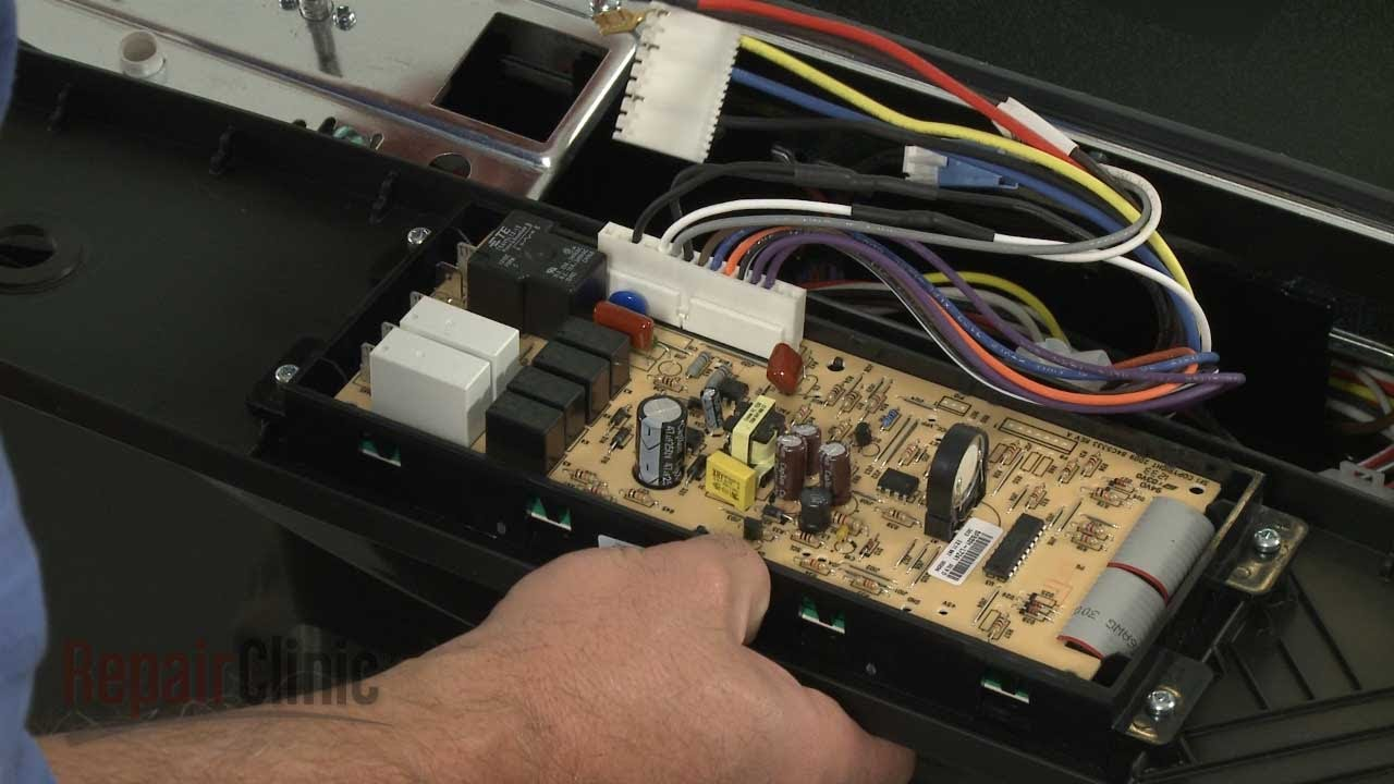 whirlpool electric range wiring diagram gun parts oven control board replacement – kenmore repair (part #318296822) - youtube