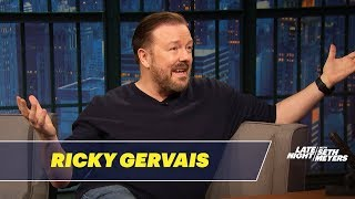 Ricky Gervais Wouldn't Kill Baby Hitler