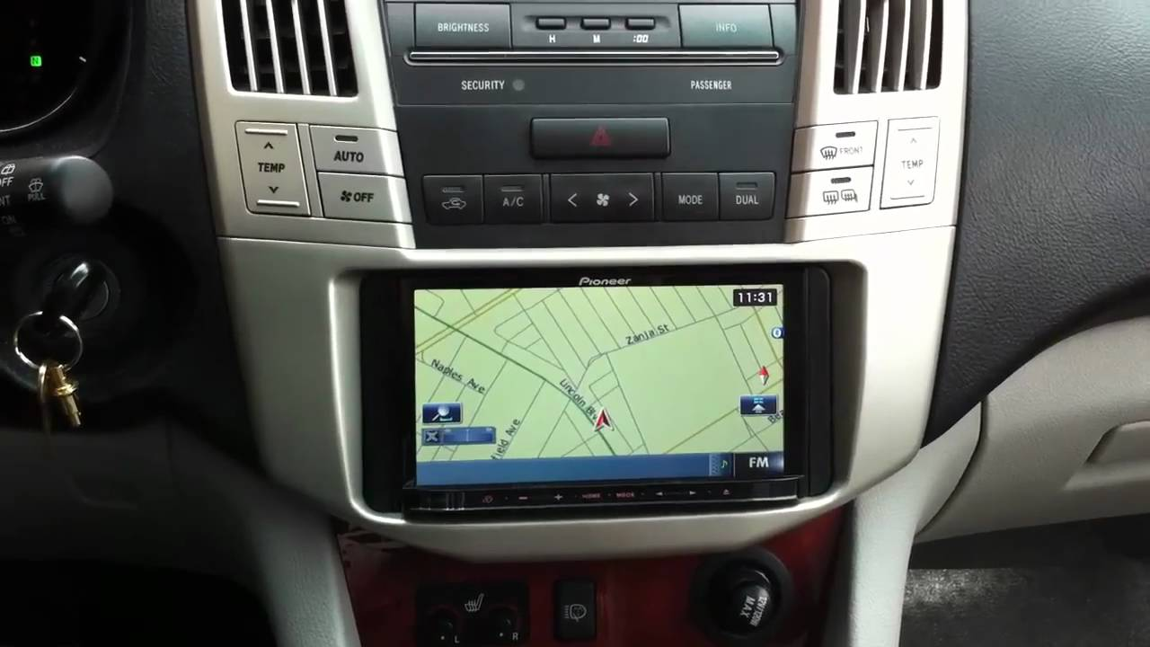 2007 Cadillac Srx Radio Wiring Pioneer Avic Z120bt Lexus Rx330 Navigation Bluetooth Ipod