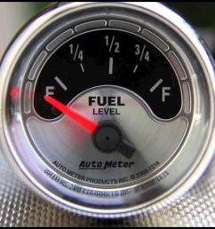 fuel level gauges autometer how they work how to install tutorial instructions ohms wiring youtube [ 1280 x 720 Pixel ]