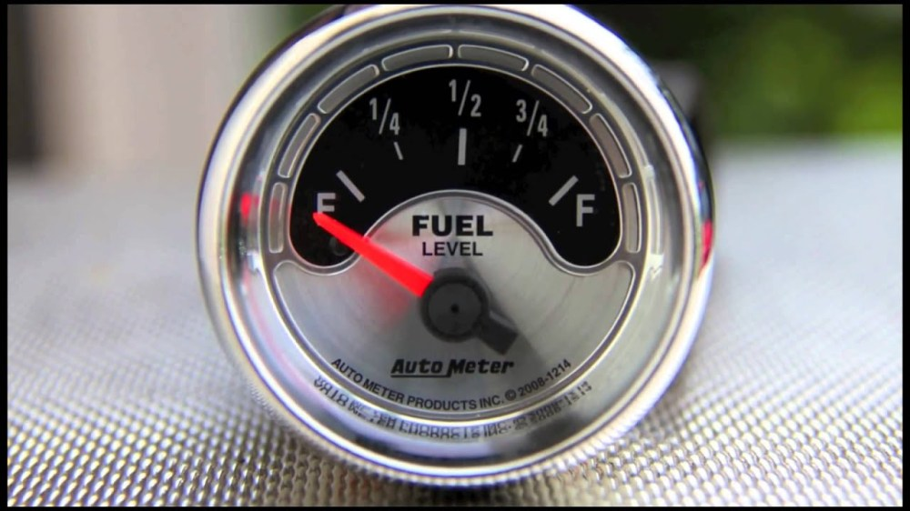 medium resolution of fuel level gauges autometer how they work how to install tutorial instructions ohms wiring youtube