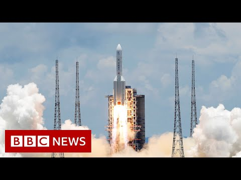 Blast-off for China's mission to Mars - BBC News
