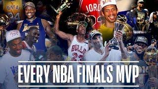 Every NBA Finals MVP in League History   Michael Jordan, LeBron James, Magic Johnson and More!