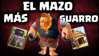 ¡¡EL MAZO MÁS GUARRO DE CLASH ROYALE!! Noble + Chozas   Malcaide