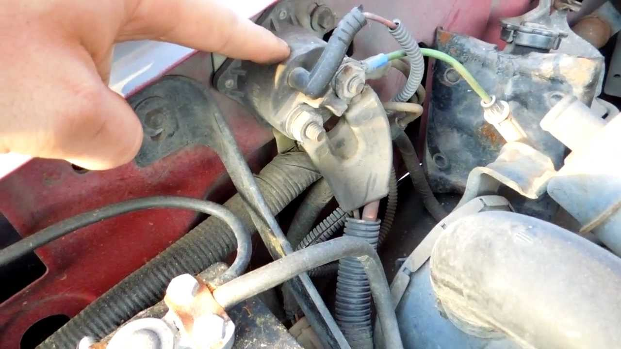 1981 Ford Charging System Wiring Diagram 1994 Ford F150 5 8l Efi Starter Solenoid Relay Location