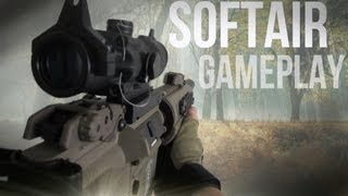 Softair Game in first person