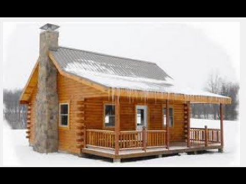 Pre Built Hunting Cabins Under 10000  YouTube
