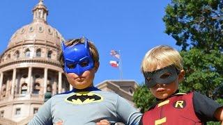 Little Batman and Robin (Kid Friendly Fan )