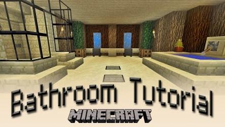 minecraft bathroom membuat cara