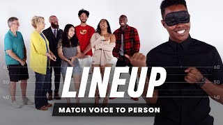 Match Voice to Person | Lineup | Cut
