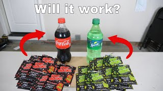 Can You Carbonate Soda With Pop Rocks? Bad Idea...