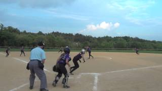 MW Crusaders 14U Softball team vs Hudson Valley Express 7 9 2013