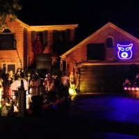 Halloween House - Naperville, Illinois - Light 'Em Up