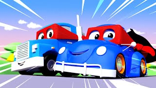 Tom the Tow Truck - Henry the old HERBIE Found a SECRET CAPE! - Car City ! Trucks Cartoon for kids