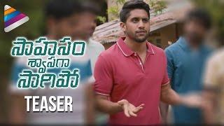 Saahasam Swaasaga Saagipo Teaser | Naga Chaitanya | Gautham Menon | AR Rahman | Telugu Filmnagar