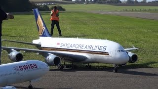 WORLD BIGGEST Radio controlled 4xTURBINE MODELL AIRLINER A-380 by PETER MICHEL