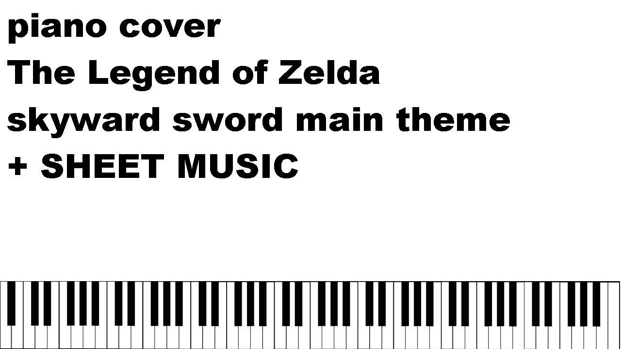 The legend of zelda skyward sword theme piano cover