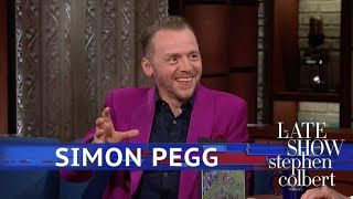 Simon Pegg: 'Ready Player One' Is A Likely Future