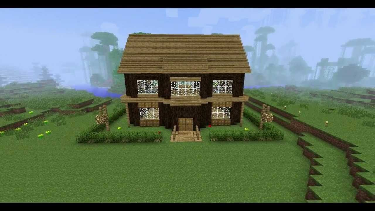 Minecraft house building ideas ep1  YouTube