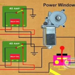 12v Rocker Switch Wiring Diagram Cable How To Wire A Power Window Relay - Youtube