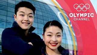 Olympic Ice Dancers, Siblings and rs. Meet the Shibutanis | Gold Medal Entourage