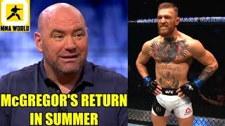 I'm cool with Conor McGregor and Donald Cerrone fighting eachother-Dana White,Interim belt at 155?