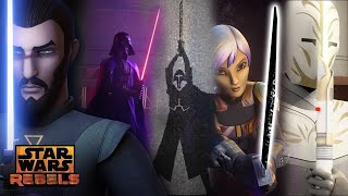 Lightsabers: Lore, Legend, and Duels | Star Wars Rebels | Disney XD